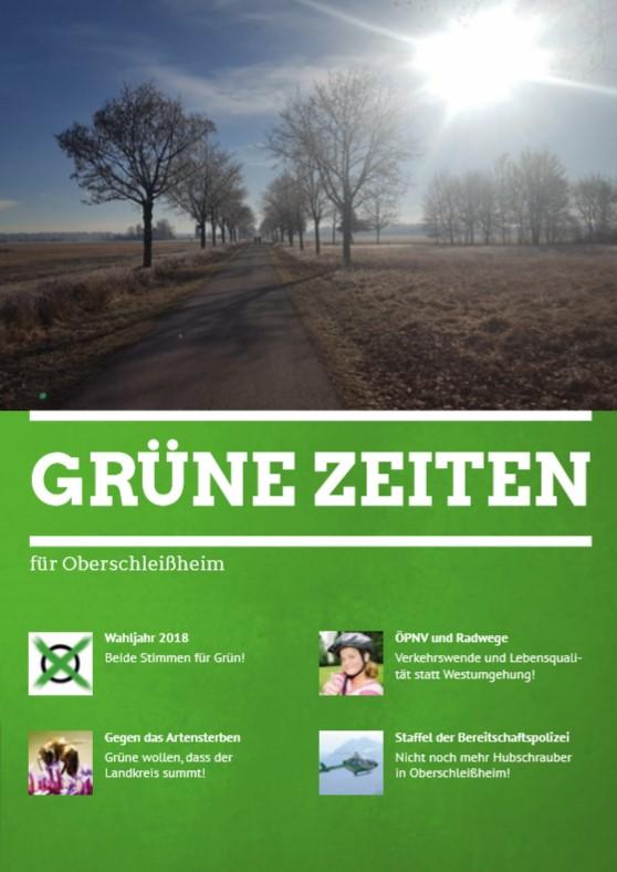 """""""Grüne Zeiten"""" für alle Haushalte"""