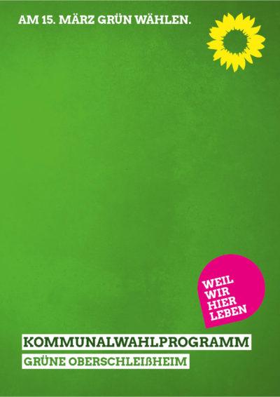thumbnail of Wahlprogramm 2020 GRÜNE Oberschleißheim