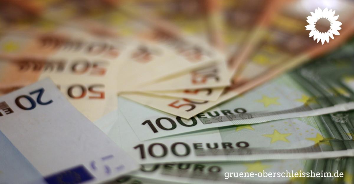 Pressemitteilung der Fraktion der Grünen im Gemeinderat Oberschleißheim zum Verlust der Geldanlage  der Gemeinde Oberschleißheim bei der Bremer Greensill Bank