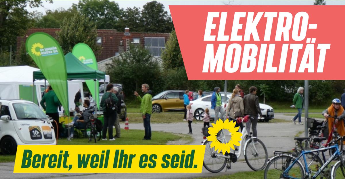 Interkommunaler Elektromobilitätstag der GRÜNEN von Garching, Oberschleißheim und Unterschleißheim
